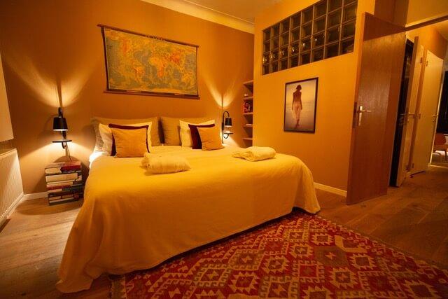 bed in de derde verdieping flat van apace antwerp